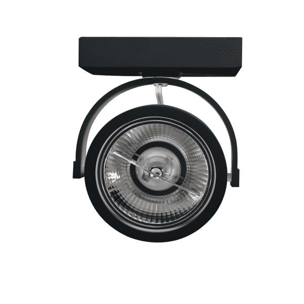 led-opbouwspot-zwart-ip22-