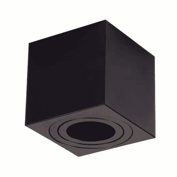 led-opbouwspot-zwart-ip22