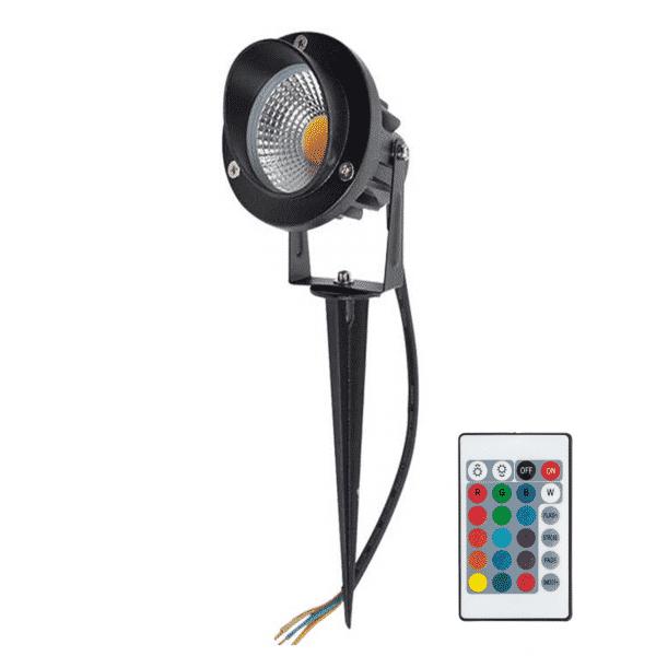 led-prikspot-9-watt-rgb