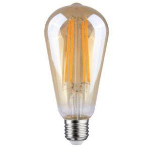 led-filament-e-27-6,5-watt-goud